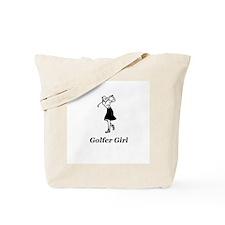 """Golfer Girl"" Tote Bag"