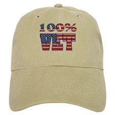100% VET Baseball Cap