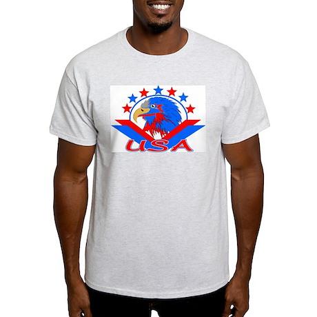 RE,WHITE, BLUE EAGLE Light T-Shirt