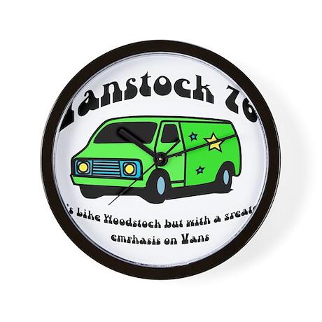 Vanstock 76 - That 70s Show Wall Clock