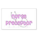 Nurse Preceptor Sticker (Rectangle 50 pk)