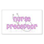 Nurse Preceptor Sticker (Rectangle 10 pk)