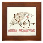 Nurse Preceptor Framed Tile