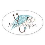 Nurse Preceptor Sticker (Oval 10 pk)