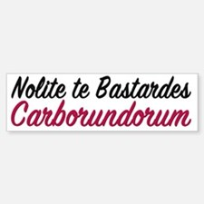 Cute Latins Sticker (Bumper)