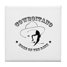 Cow Boitano Tile Coaster