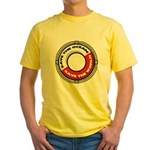Save The Ocean Yellow T-Shirt