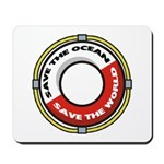 Save The Ocean Mousepad