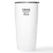 Unions Fight For Us Travel Mug