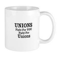 Unions Fight For Us Mug