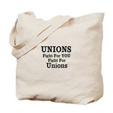Unions Fight For Us Tote Bag