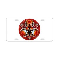 Goddess of the Red Moon Aluminum License Plate