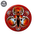 """Goddess of the Red Moon 3.5"""" Button (10 pack)"""