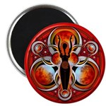 """Goddess of the Red Moon 2.25"""" Magnet (100 pac"""