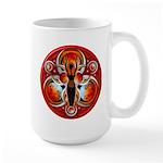 Goddess of the Red Moon Large Mug