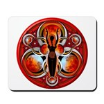 Goddess of the Red Moon Mousepad