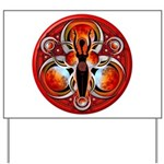 Goddess of the Red Moon Yard Sign