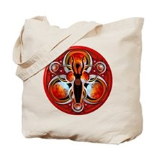 Goddess of the Red Moon Tote Bag
