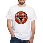 Goddess of the Red Moon White T-Shirt