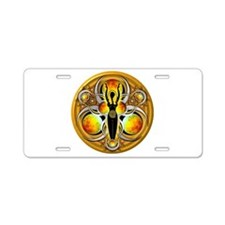 Goddess of the Yellow Moon Aluminum License Plate