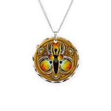 Goddess of the Yellow Moon Necklace