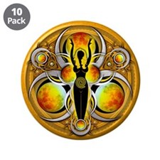 """Goddess of the Yellow Moon 3.5"""" Button (10 pa"""