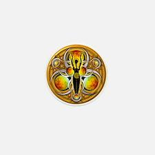Goddess of the Yellow Moon Mini Button