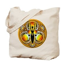 Goddess of the Yellow Moon Tote Bag