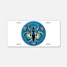 Goddess of the Blue Moon Aluminum License Plate