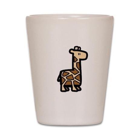 Abduction! Giraffe Shot Glass