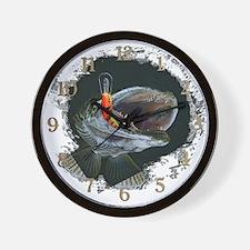 Musky,3 Wall Clock