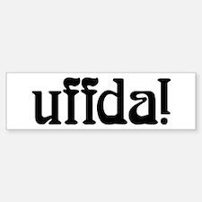 uffda Bumper Stickers