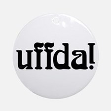 uffda Ornament (Round)