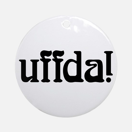 uffda Ornament (Round)