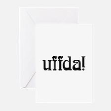uffda Greeting Cards (Pk of 10)