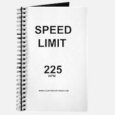 Speed Limit Journal