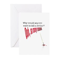 Why would anyone... Greeting Cards (Pk of 20)
