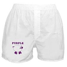 Purple Sheep Boxer Shorts