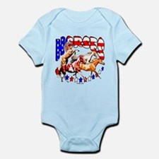 Horses and Stars Infant Bodysuit