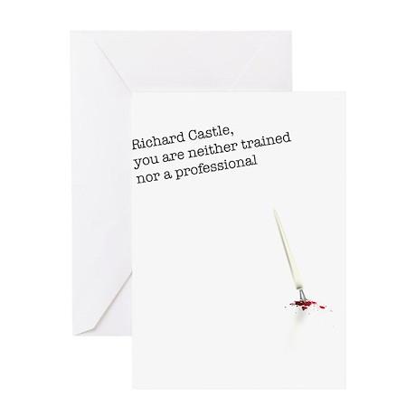 Richard Castle... Greeting Card