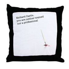 Richard Castle... Throw Pillow