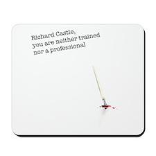 Richard Castle... Mousepad
