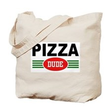 Pizza Dude Tote Bag
