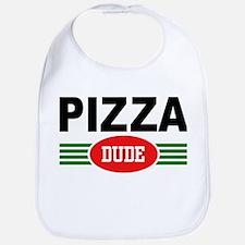 Pizza Dude Bib