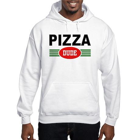 Pizza Dude Hooded Sweatshirt