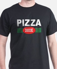 Pizza Dude Black T-Shirt