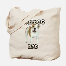 Bulldog Dad Tote Bag