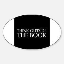ThinkOTB Sticker (Oval)