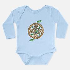 Celtic Balance Long Sleeve Infant Bodysuit