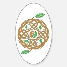 Celtic Balance Sticker (Oval)